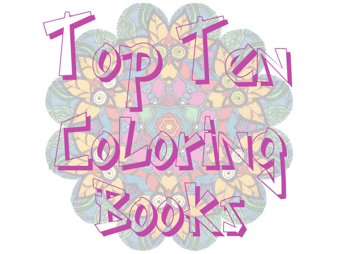 Top 10 coloring books