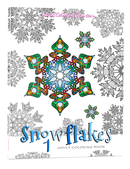 Snowflakes #1 coloring book