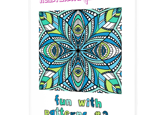 Fun with Patterns #2 Coloring Book