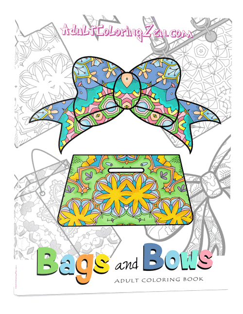 Bags & Bows coloring book