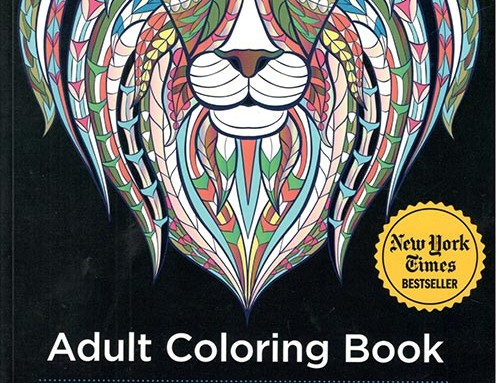 Adult Coloring Book – Stress Relieving Animal Designs