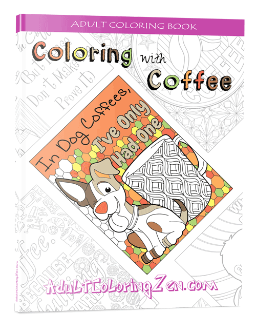 Coloring with Coffee coloring book